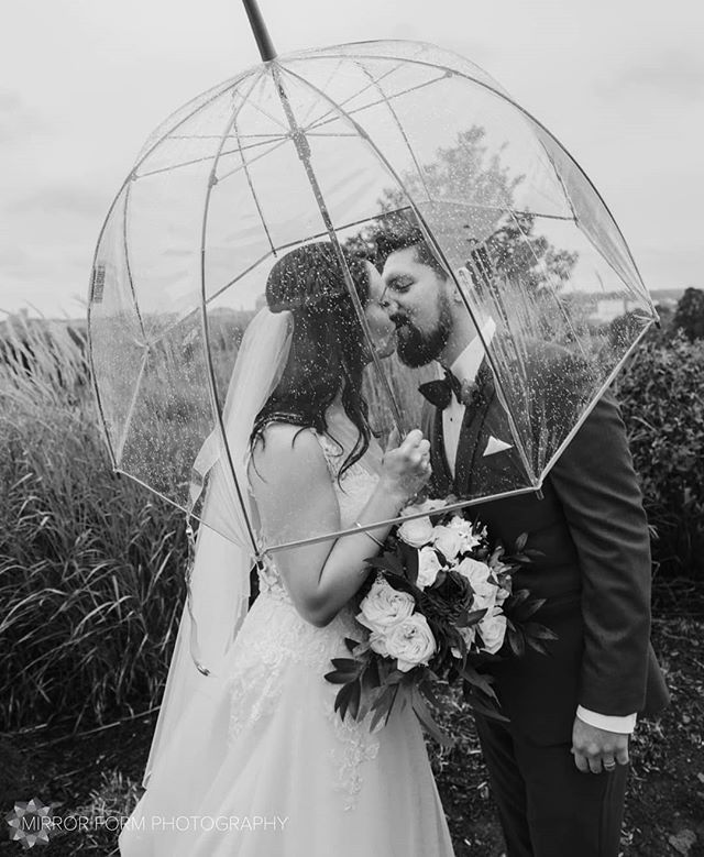Rain swept romance ☔I love a rainy wedding day! 📷 Photographed under contract with Jessica Lauren Studios . . . . . . . . . . #rainonyourweddingday #weddingportrait #umbrella #kwawesome #isntitromantic #blackandwhite #bnw_greatshot #bnw #monoart #weddinginspo #weddingphotography #bridalfashion #allthefeels #gtaweddings #guelphwedding #autumnbride #shootandshare #magical #gorgeous #fineartlove #fineartphotography #fineartwedding #truelove #ilovelove #tenderness #shootandshare #magical #dreamcometrue #rain #dreamy #husbandandwife