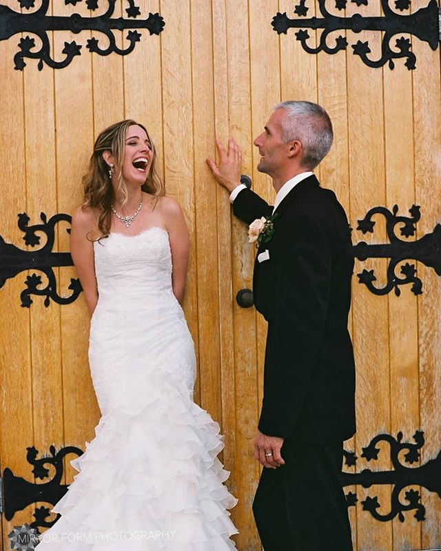 Flash back Friday to this lovely wedding almost 10 years ago! Photographed on 35mm film with my trusty Minolta X-70. Love those captured true laughing moments. . . . . . . . . . . #fbf #ishootfilm #weddingportrait #weddingphotography #bellylaugh #bridalfashion #35mm #weddinggown #kwawesome #filmisnotdead #vintage #truelove #fineartphotography #finartweddings #photographersoninstagram #torontophotographers #gtaweddings #magical #husbandandwife #authenticlove #shootandshare #photobugcommunity #allthefeels #weddinginspo #weddinginspiration #lush