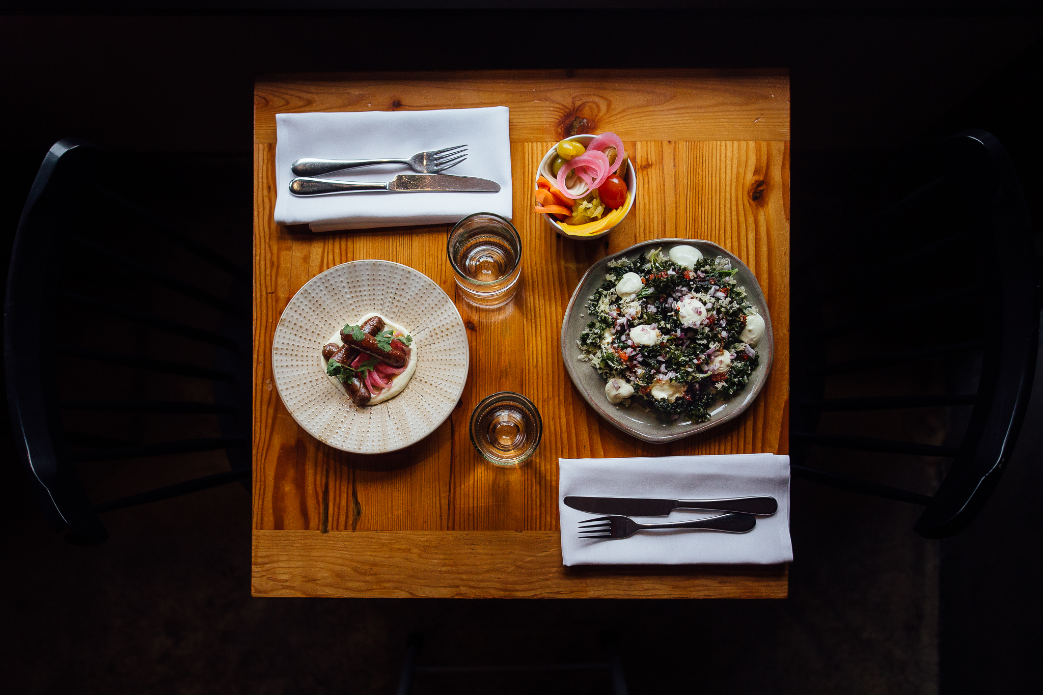 Preserve in Annapolis, Maryland prides itself on pickling local vegetables and integrating them into their menu.