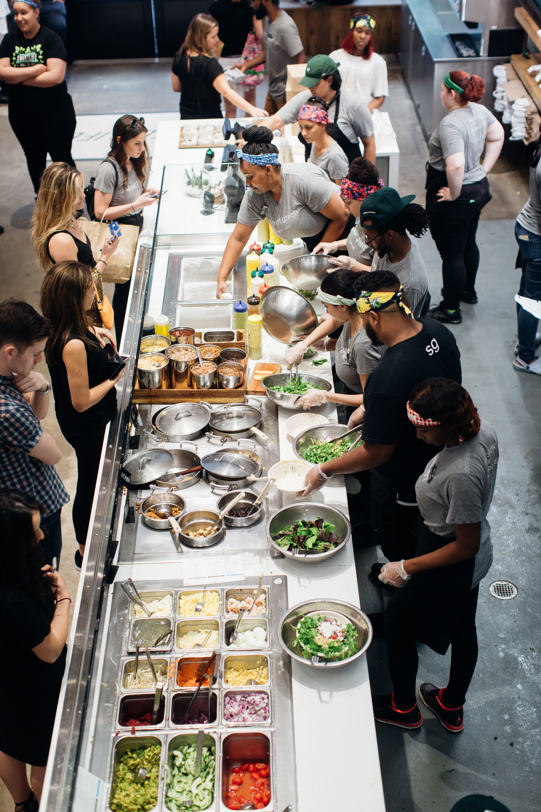 sweetgreen in Washington, D.C. Since the store first opened over ten years ago the company has expanded into 89 locations throughout the country.