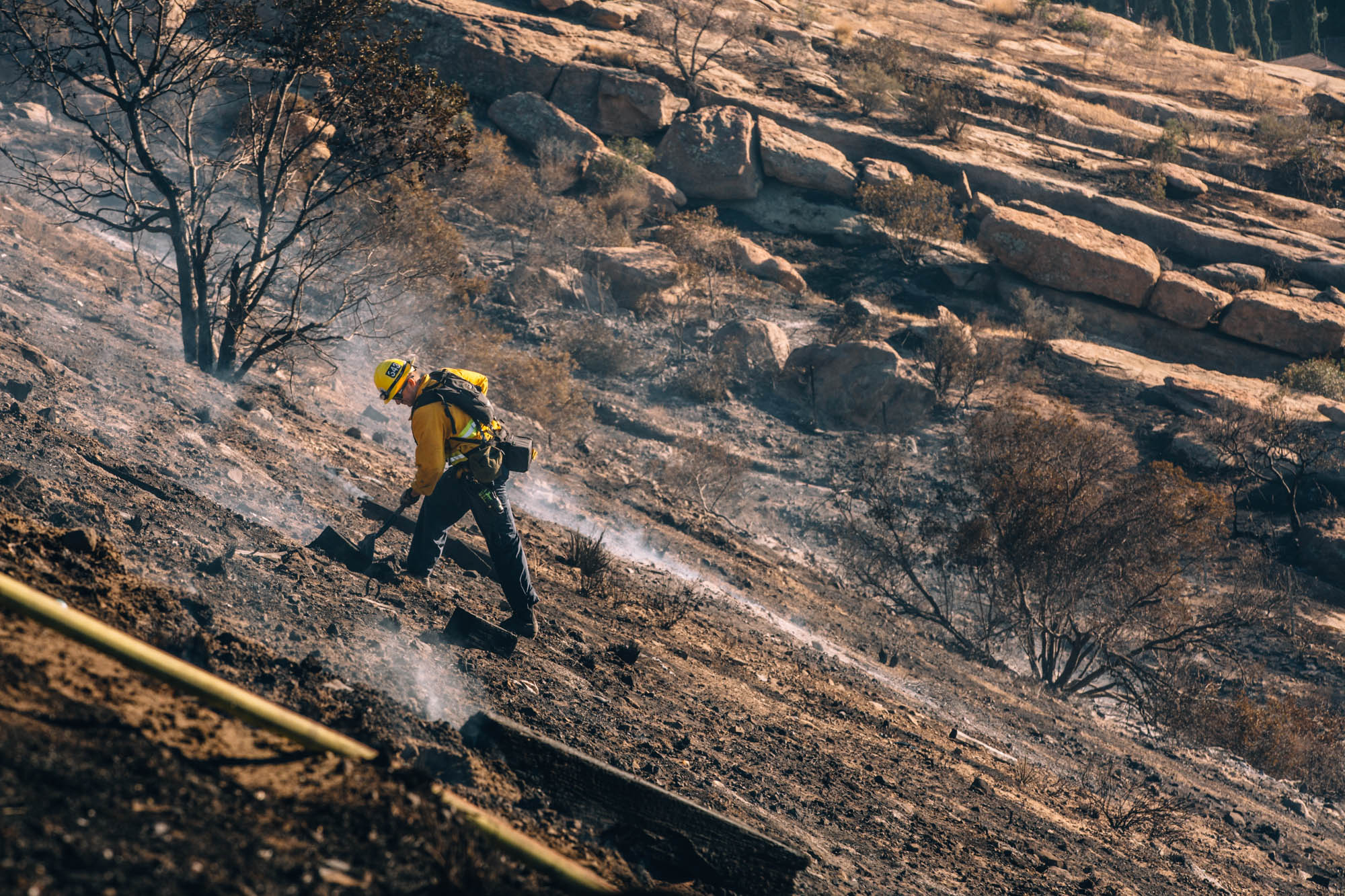 California Burning, Svenska Dagbladet - In November 2018 California burned at both ends, in Northern California's Butte County the Camp Fire killed at least 86 people and became the deadliest fire in state history. In the south in Los Angeles and Ventura counties the Woolsey Fire scorched more than 96,000 acres and killed at least three people.Swedish daily newspaper, Svenska Dagbladet sent me and reporter Sandra Johansson to tell the stories of those affected in Los Angeles by the Woolsey Fire. We met people whose whole lives were destroyed like Antonio Castro, who lived and worked in Malibu for more than 20 years with his wife at Malibu Riding and Tennis Club. The two lived on the property with their son and are unsure of the what the future holds.The fire was so sporadic that some homes were saved like the Sumner family, who evacuated from their home in Point Dume in ten minutes with their three children. They mourned their home after seeing their street being burned down on social media only later to find out it was one of the few saved. Finally, we spent time with Melody Riggs who retired in Seminole Springs Mobilehome Park and lost everything during the fire. She has a long road of building back her life but remains grateful that she was able to evacuate and has family supporting her.This is the start of these families making sense of what happened and trying to rebuild their lives.