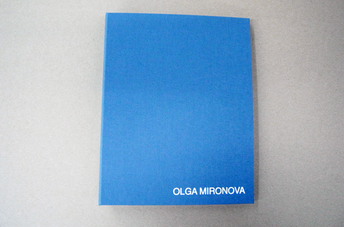 Bright Blue Portfolio Book