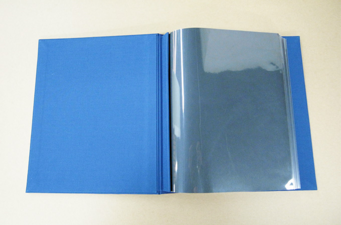 Portfolio Book With Sheet Protectors
