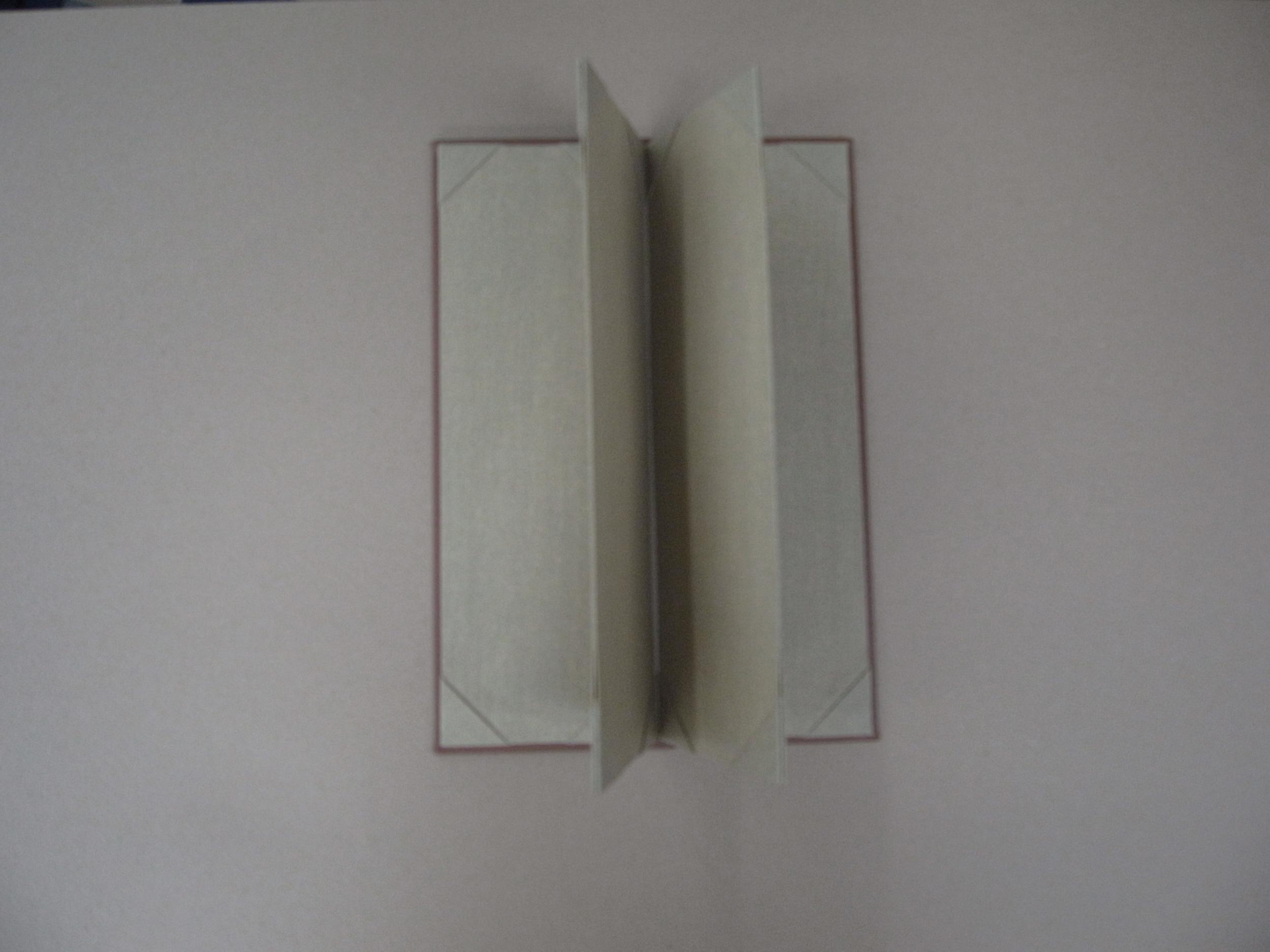 Canvas Menu Cover