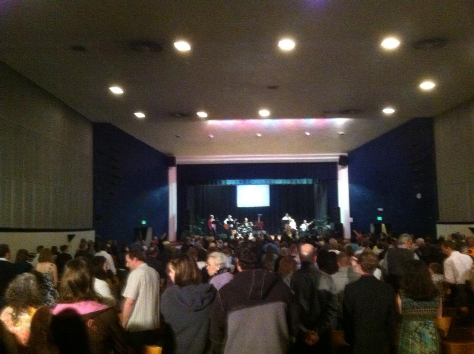 Every Easter, Calvary Chapel Emmett holds a service at Emmett Junior High School that draws over 500 people.