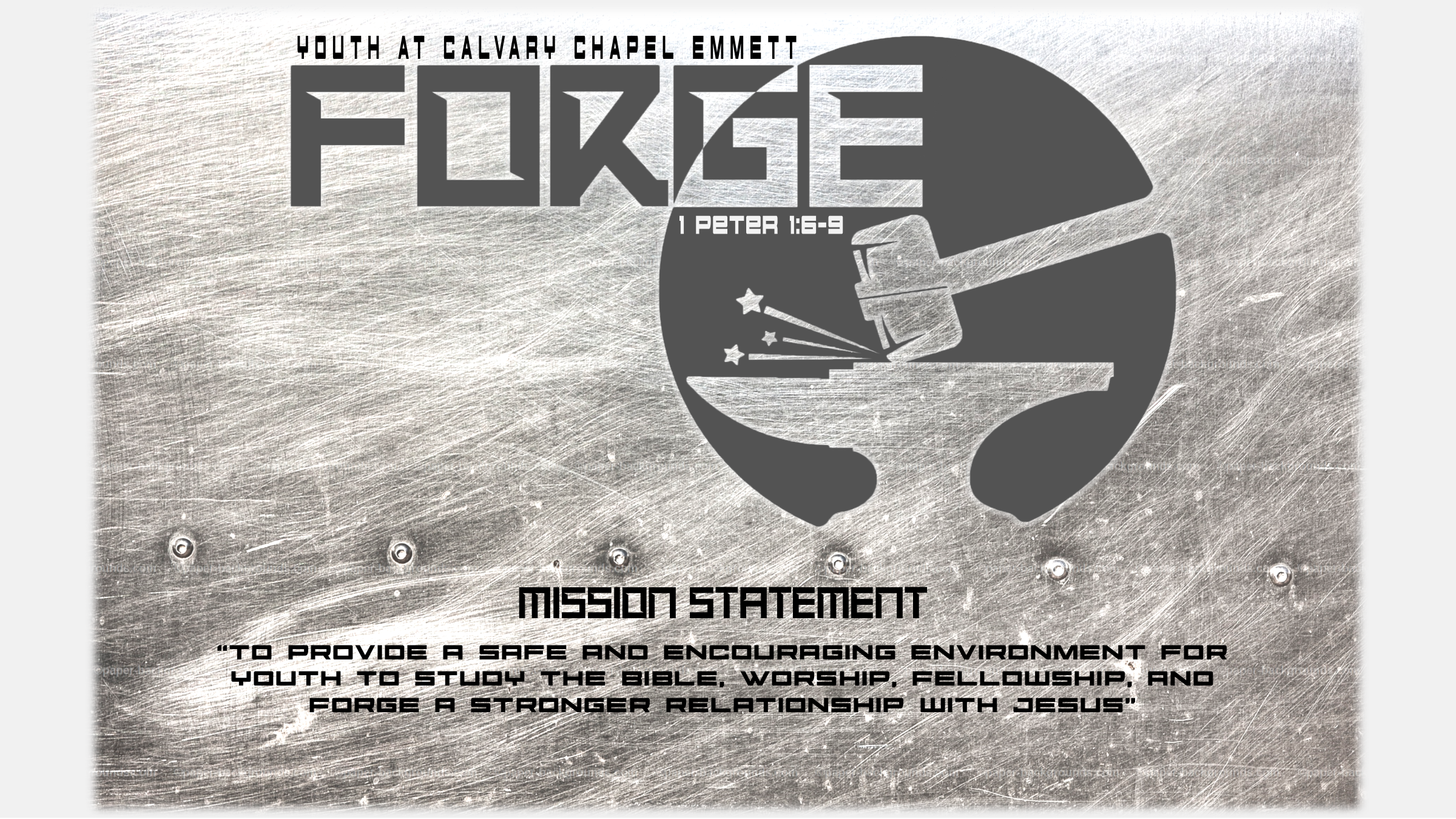 FORGE Logo & Mission Statement