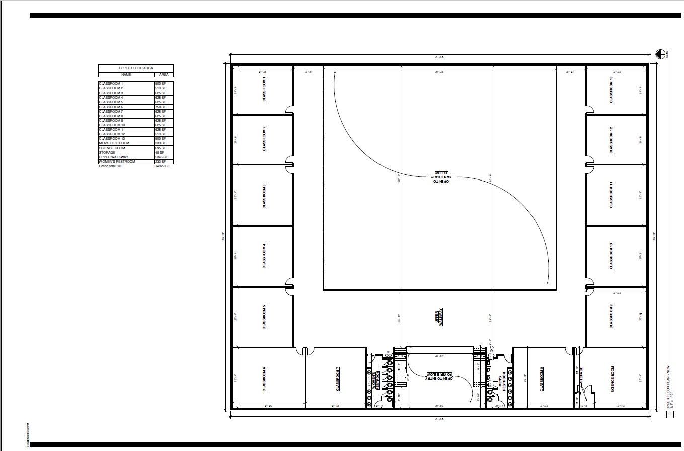 Second Floor Plan first draft
