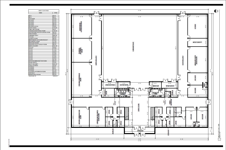 Ground Floor Plan first draft