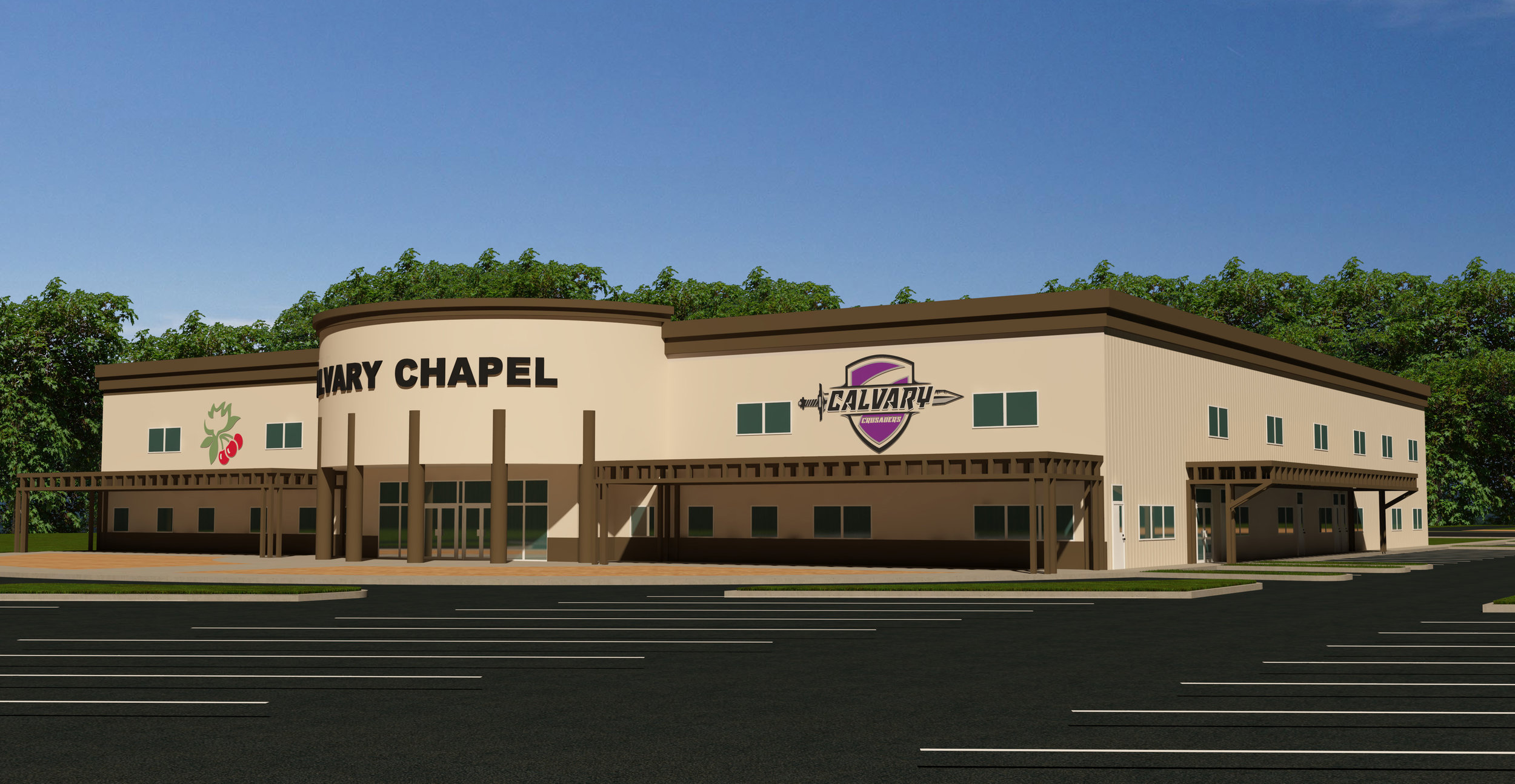 Proposed look of the new facility