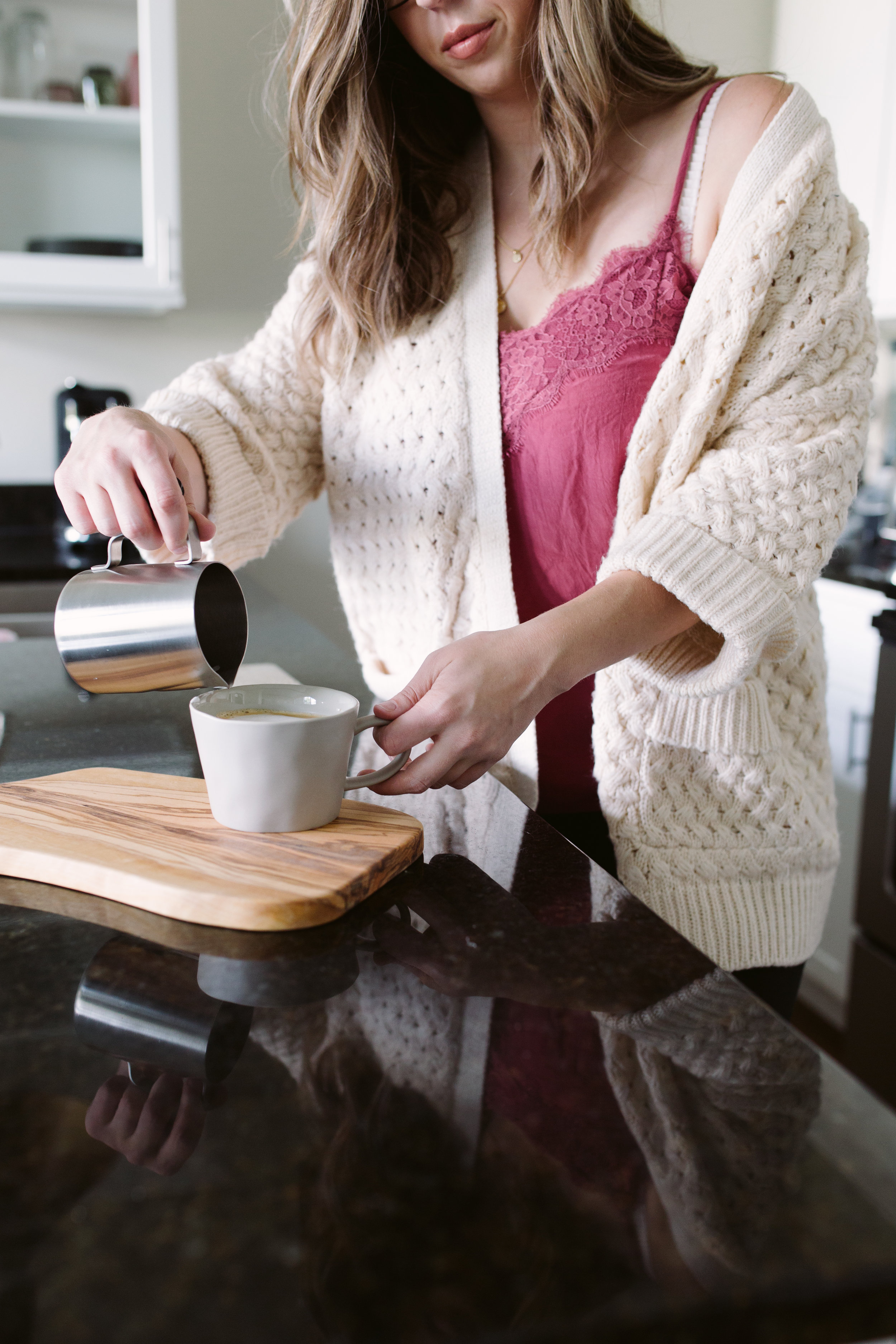 healthy coffee at home