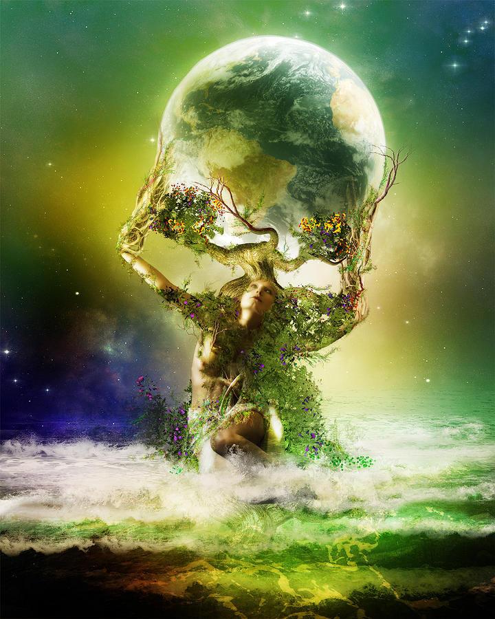 Mother Earth by Karen Koski