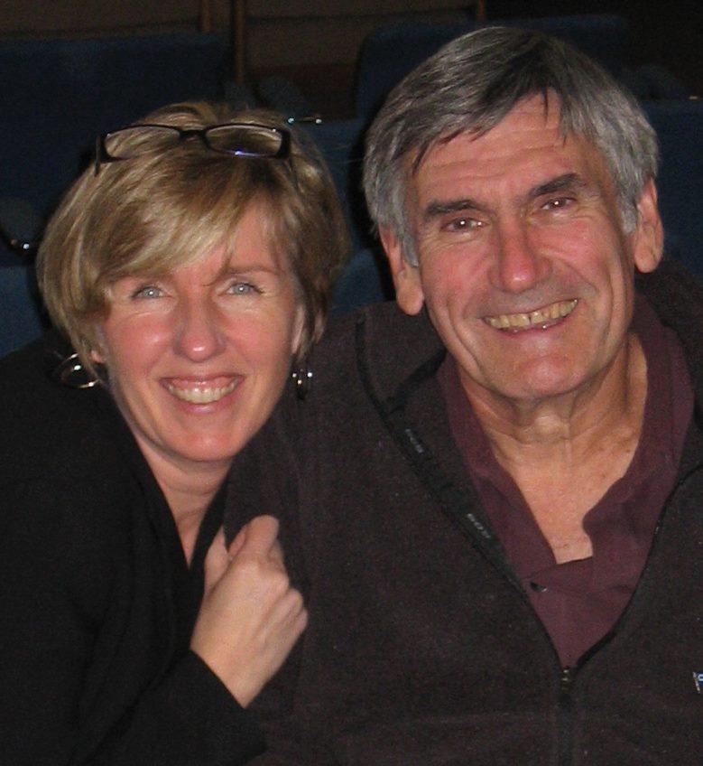 With Marshall Rosenbergin 2004