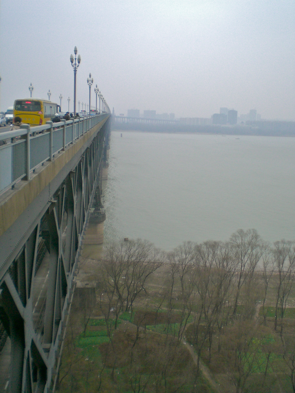 Yangtze River Bridge in Nanjing, China. (C) Remko Tanis