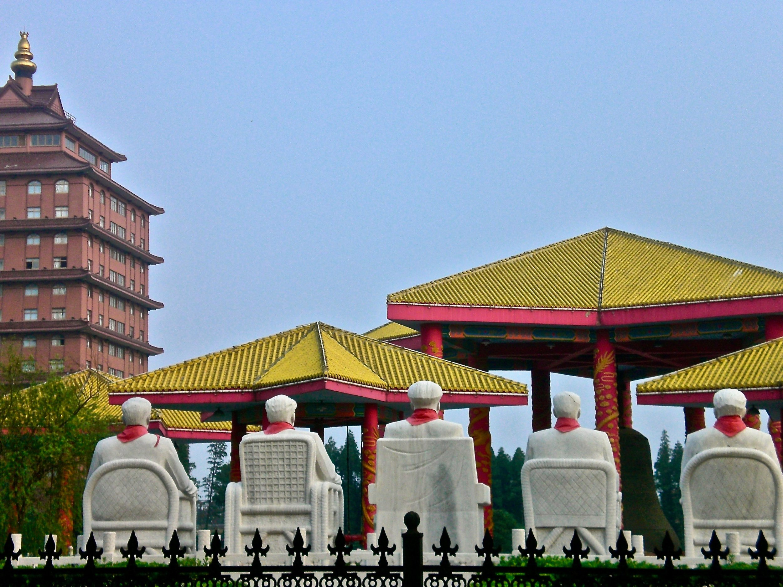 - Huaxi is known as China's richest village. Those inside the gates have villas, cars and glamour. Outside, life's harder.