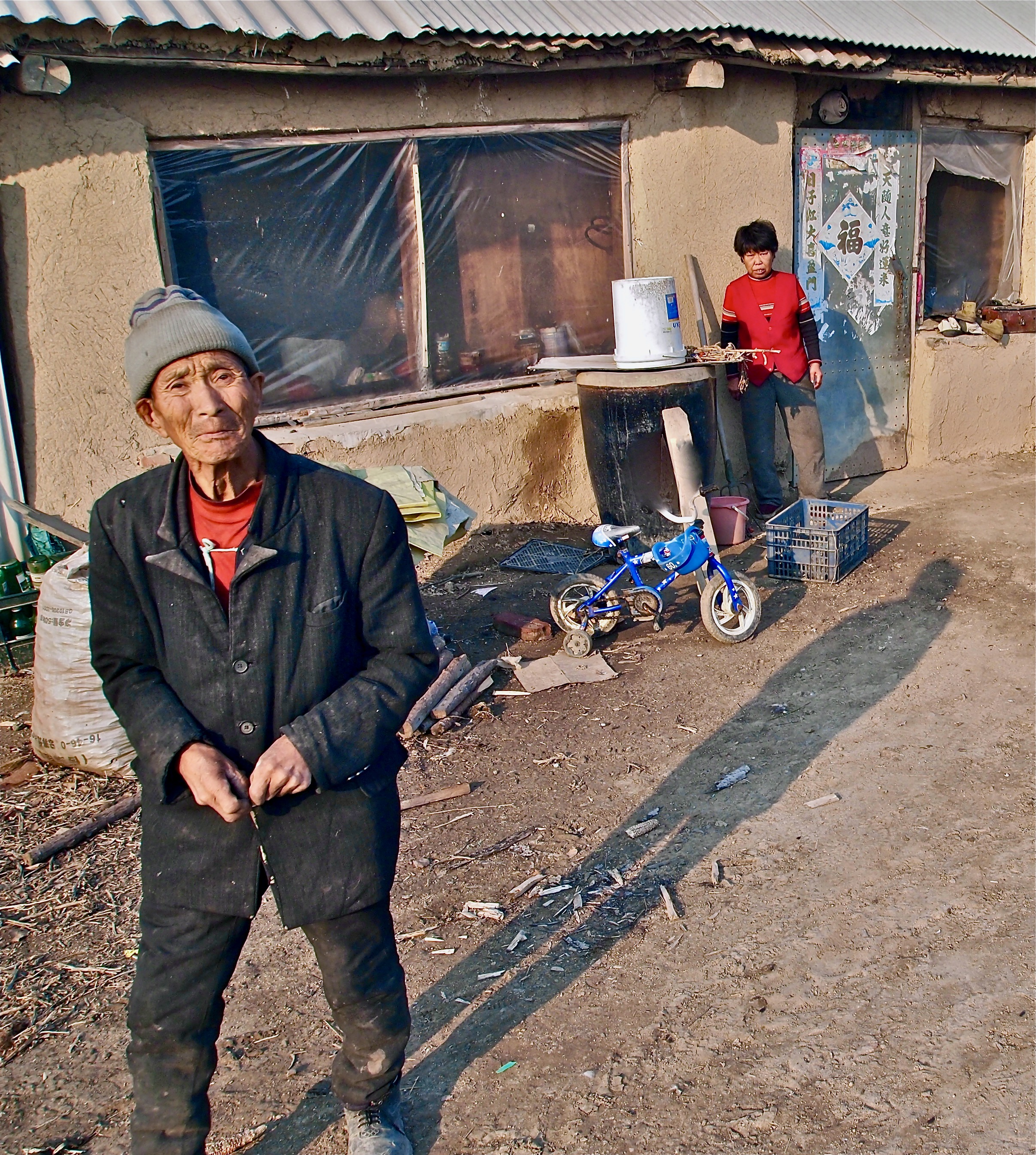 - In China's far north, a small town has been cut from the grid. The government wants the villagers to move to a bigger town. So far though, they're staying put.