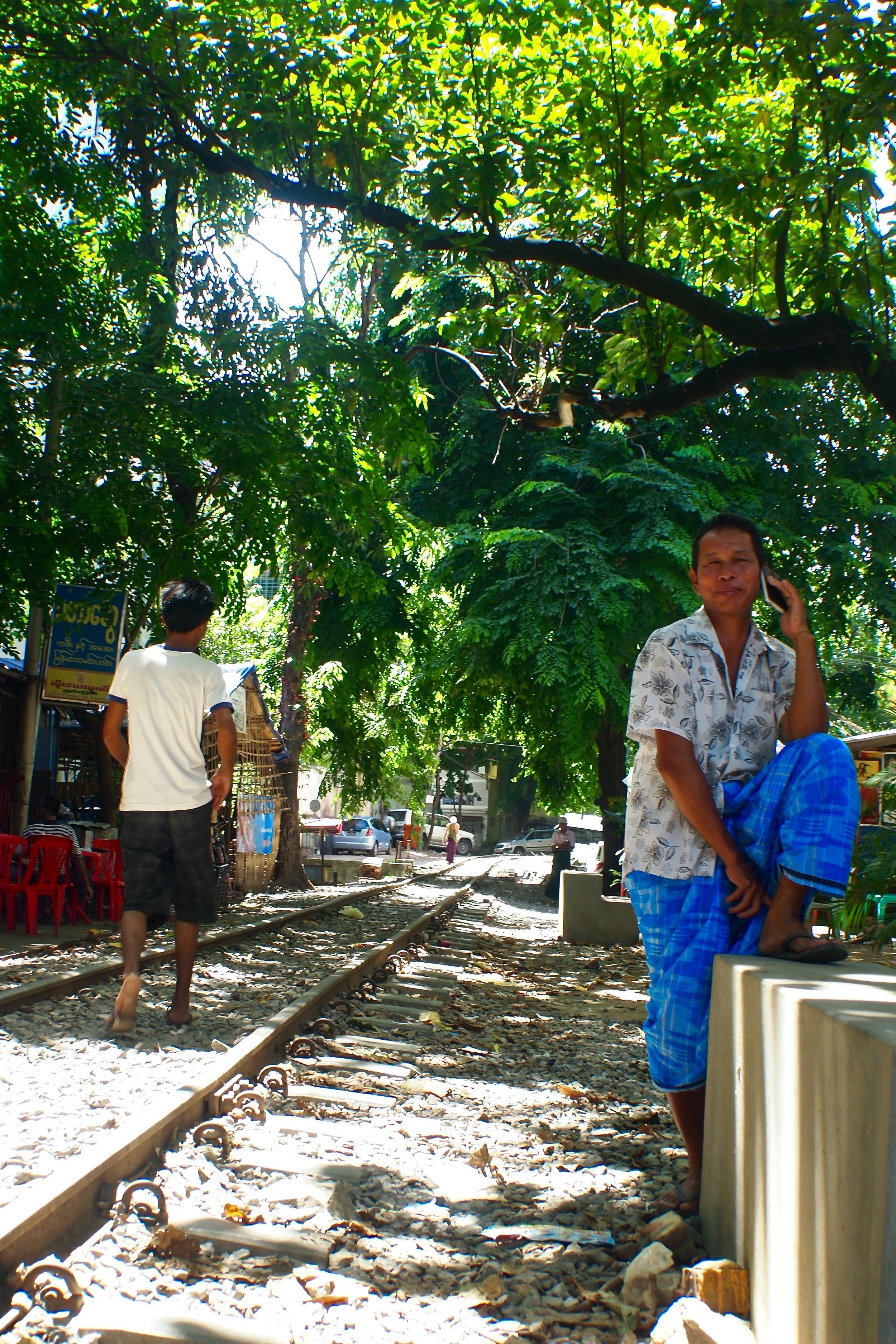 Yangon, Myanmar. (C) Remko Tanis
