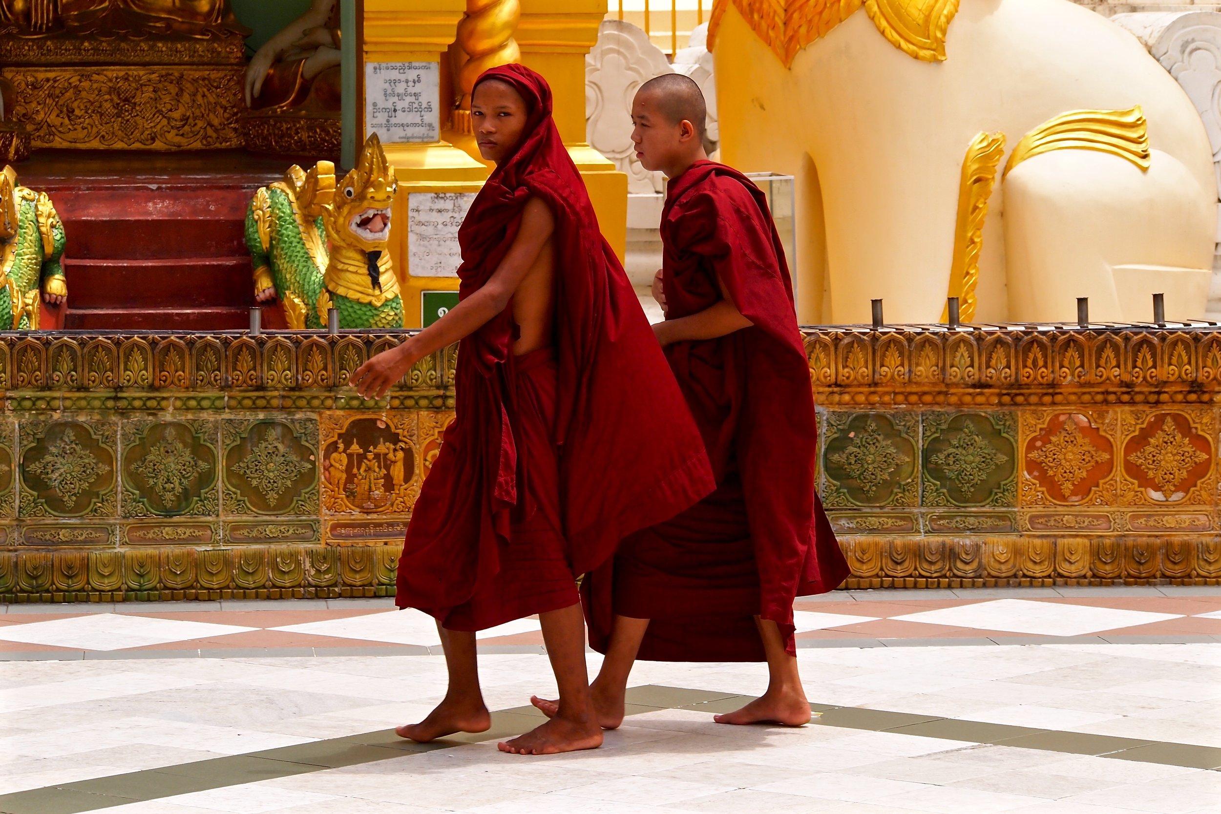 Shwedagon Pagoda, Yangon, Myanmar. (C) Remko Tanis