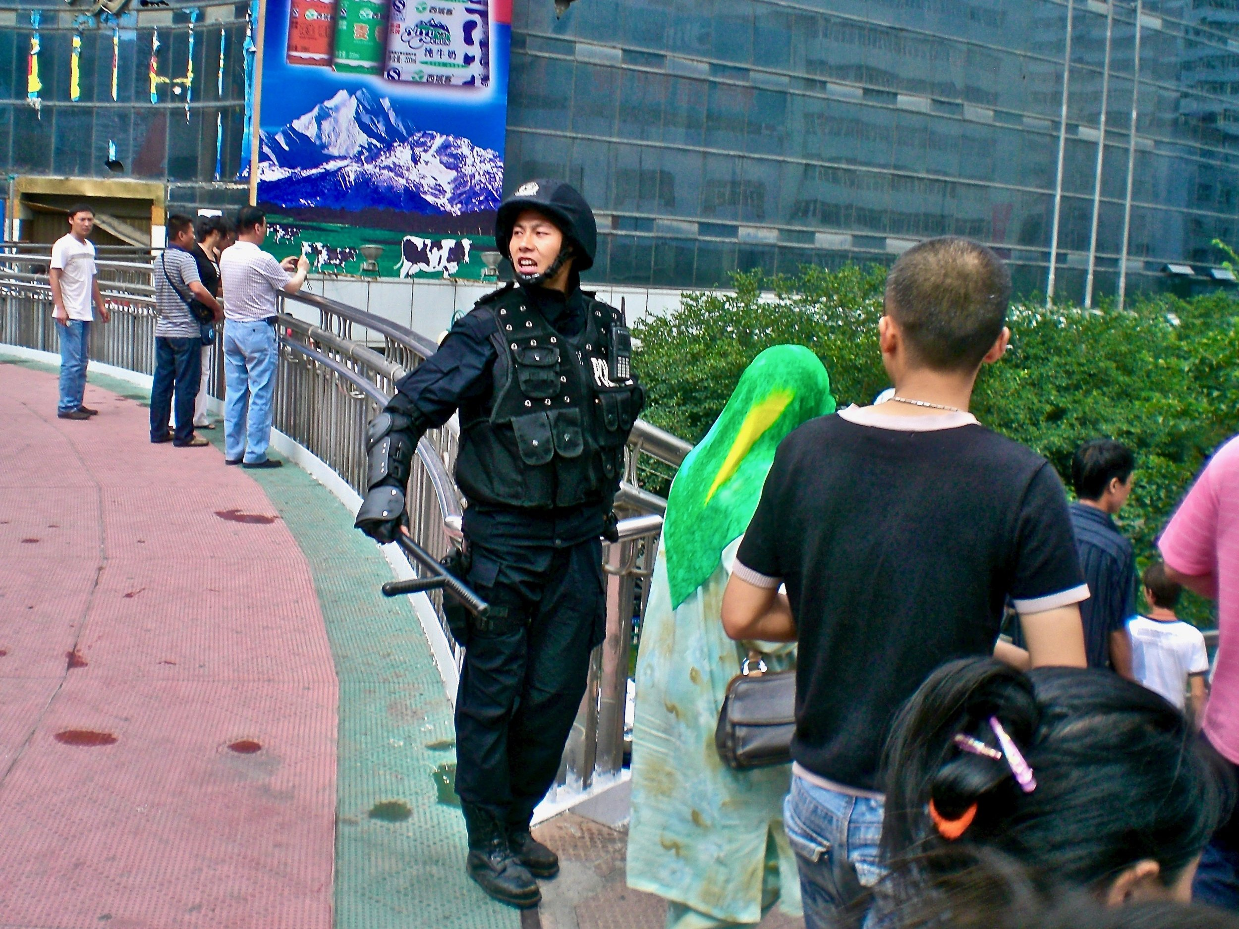 Urumqi, capital of Xinjiang, on high alert after deadly ethnic riots in 2009. (C) Remko Tanis