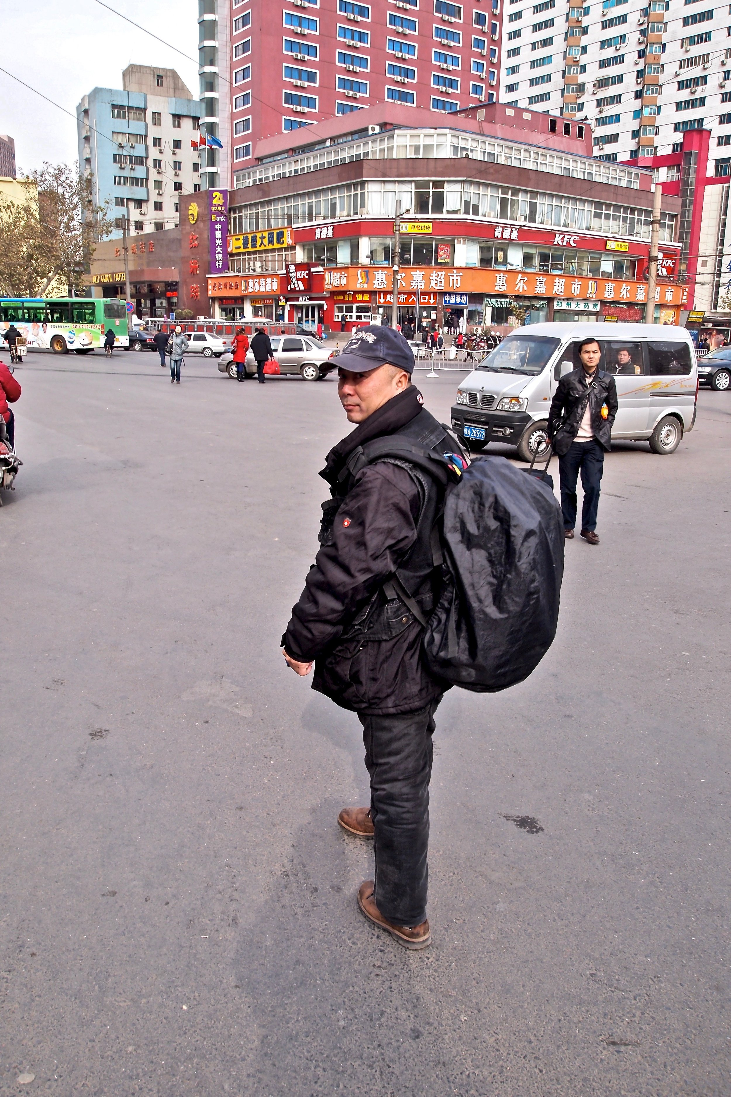 - Lu Jianfu films government vehicles violating traffic rules. It's how he fights rampant corruption, one sedan at a time.