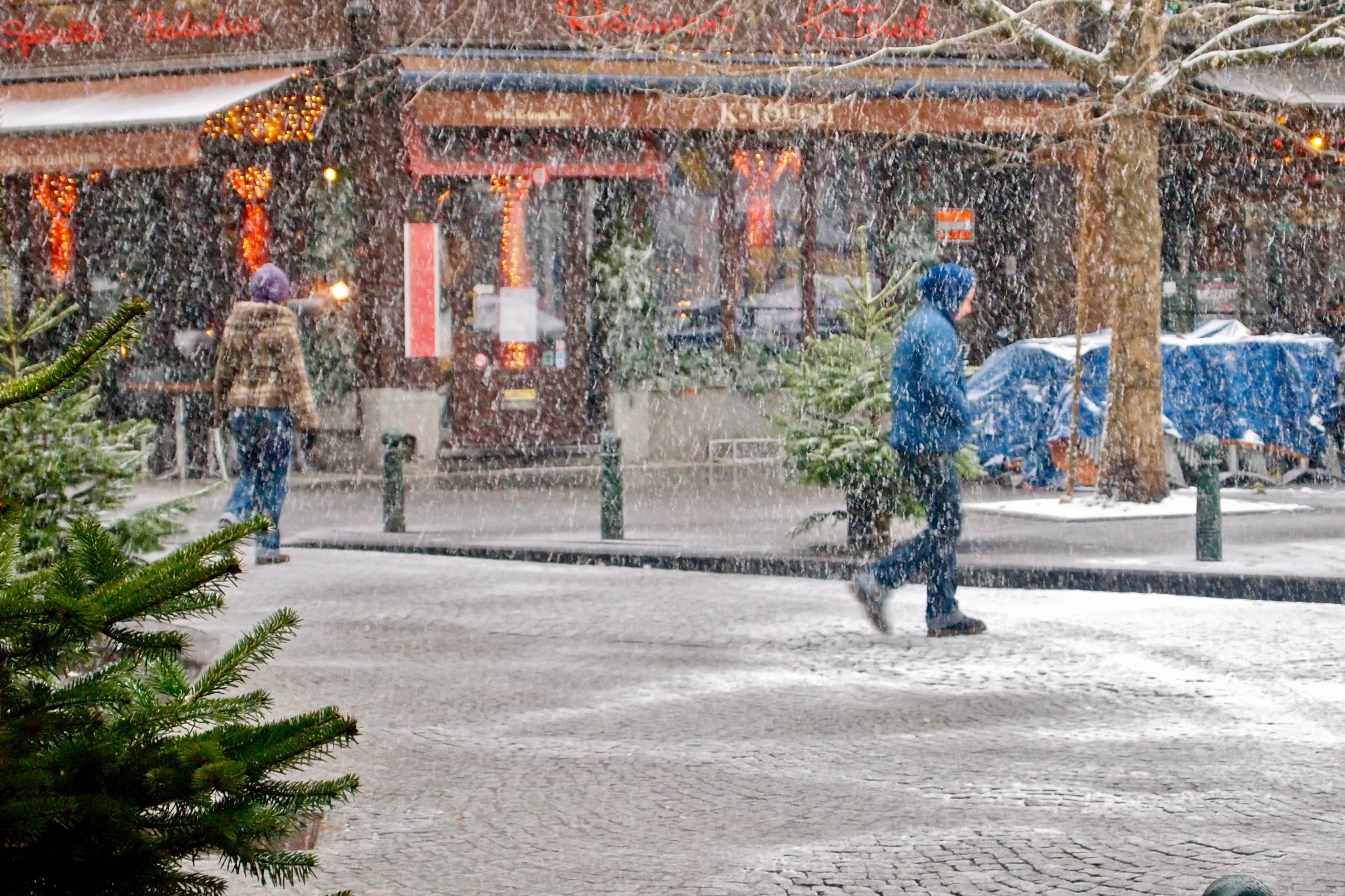 Winter in Brussels. Photo: (C) Remko Tanis