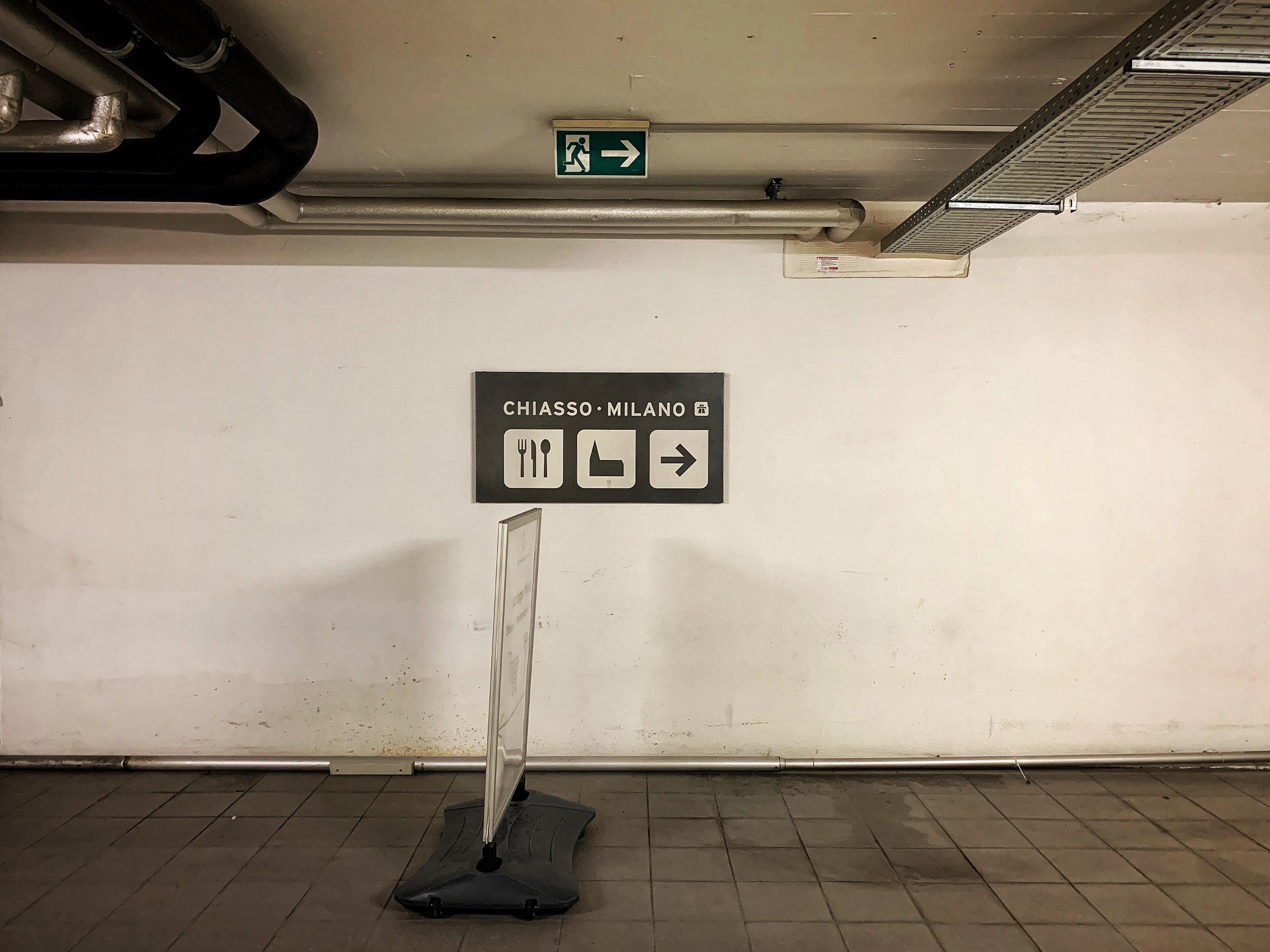 The road to Milan. Photo: (C) Remko Tanis