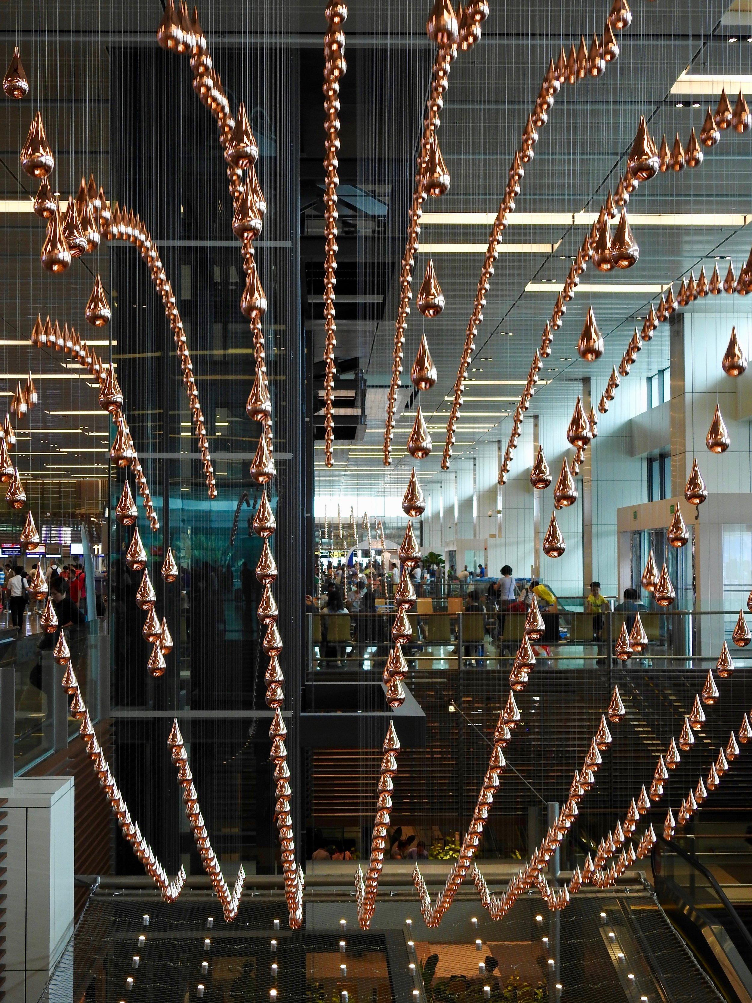 Changi Airport Terminal 1, Singapore. Photo: (C) Remko Tanis