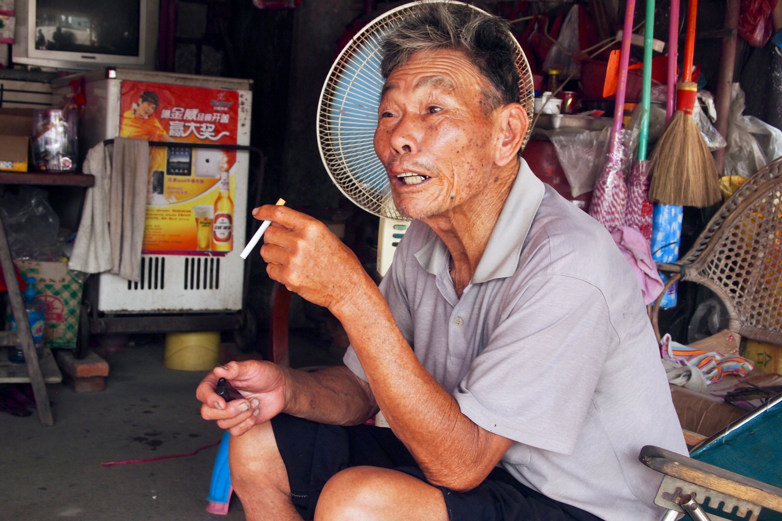 - One in every three smokers in the world lives in China. A tobacco museum sings the praises of the cigarette.