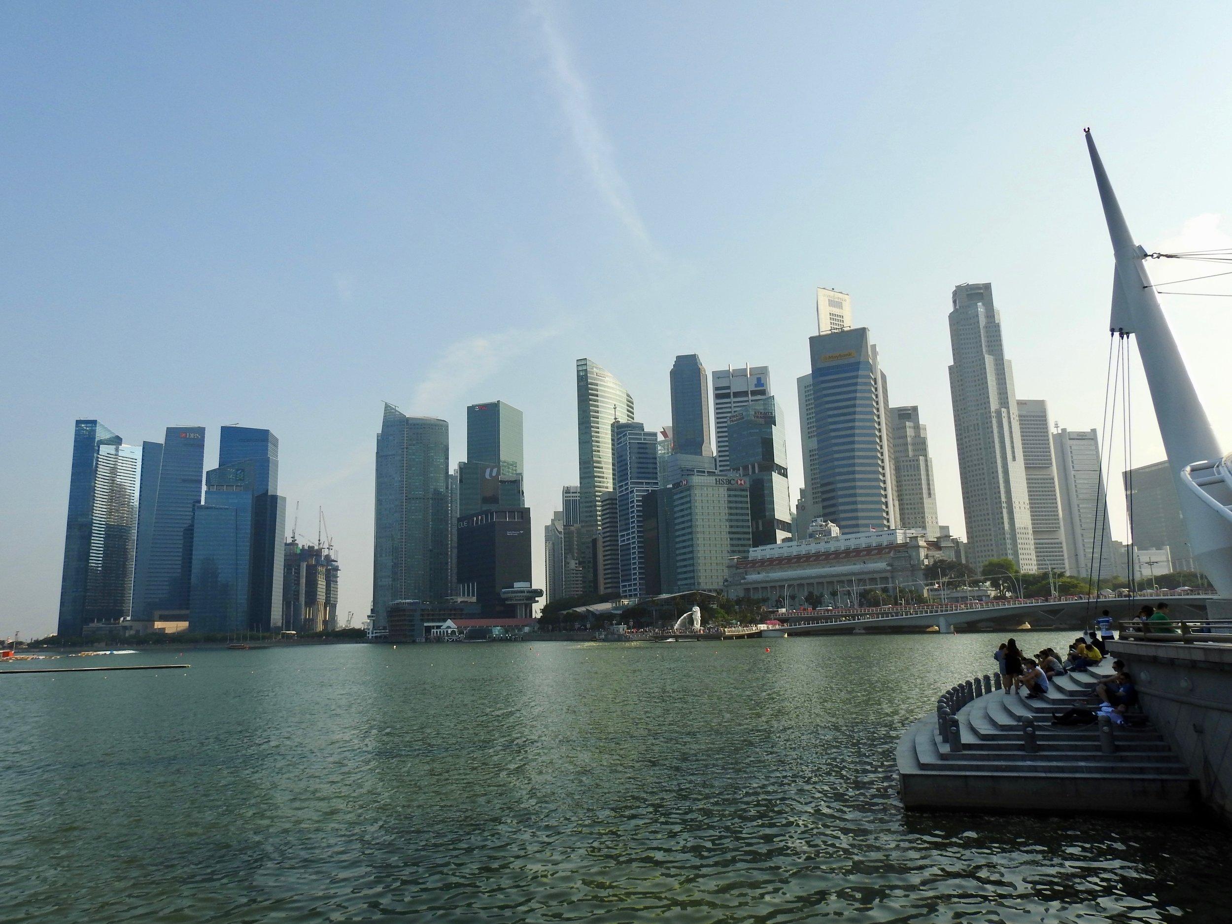 Singapore skyline. Photo: (C) Remko Tanis