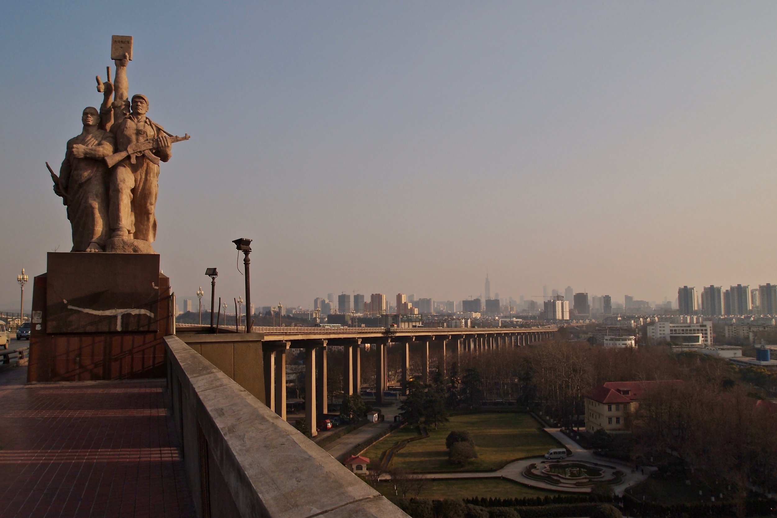 The Yangtze River Bridge in Nanjing, China. Photo: (C) Remko Tanis