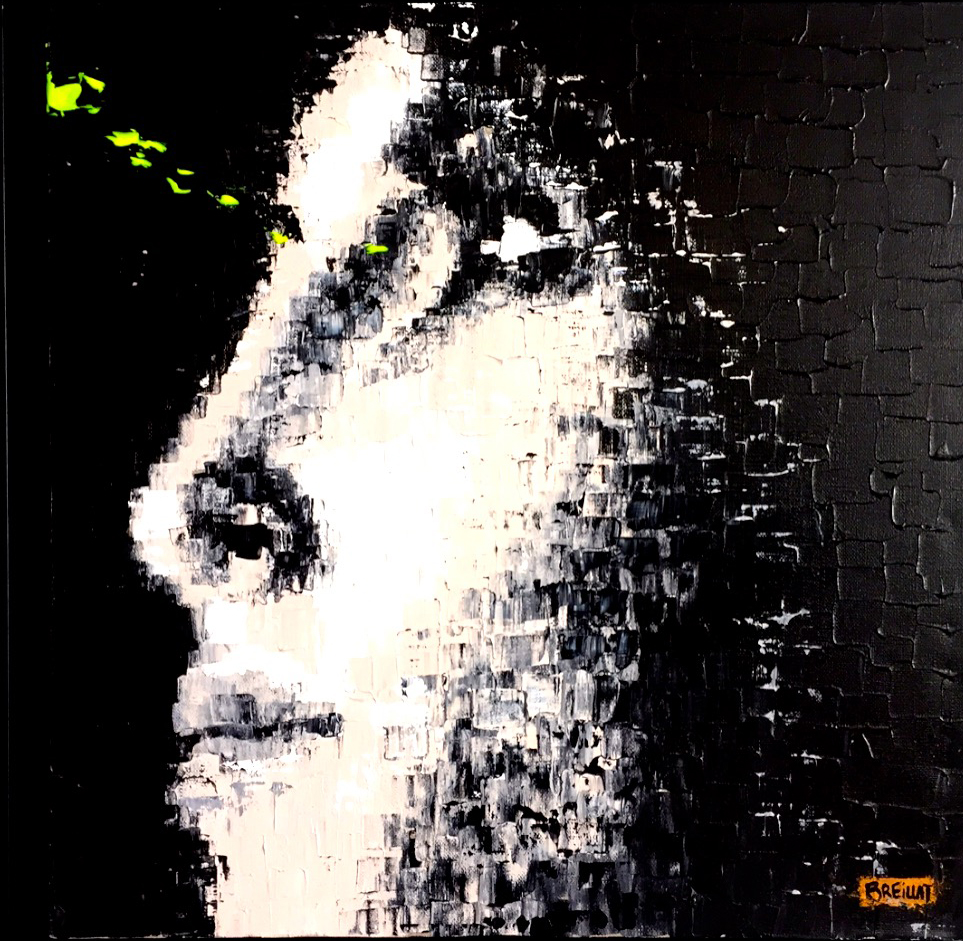 """Magic Dream 25""  Acrylic on canvas - 20 X 20 in."