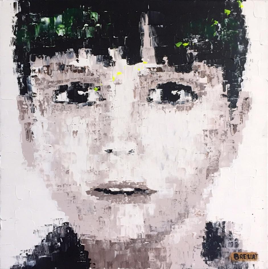 """Magic Dream 27""  Acrylic on canvas - 20 X 20 in."
