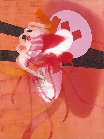 Catalonian Jasmine  - oil on canvas - 30 x 40 x 1.5 in.