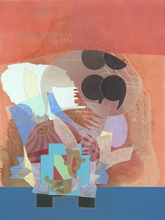 Kataka  - oil on canvas - 30 x 40 x 1.5 in.