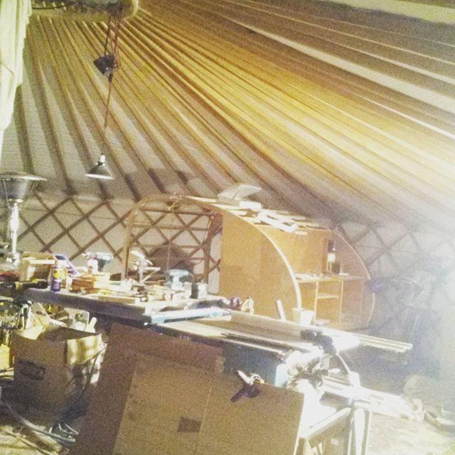 Yurt workshop!