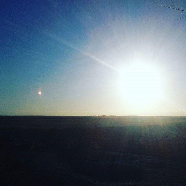 Sunset at Pildappa Rock