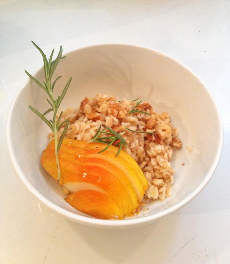rosemary oats + honey