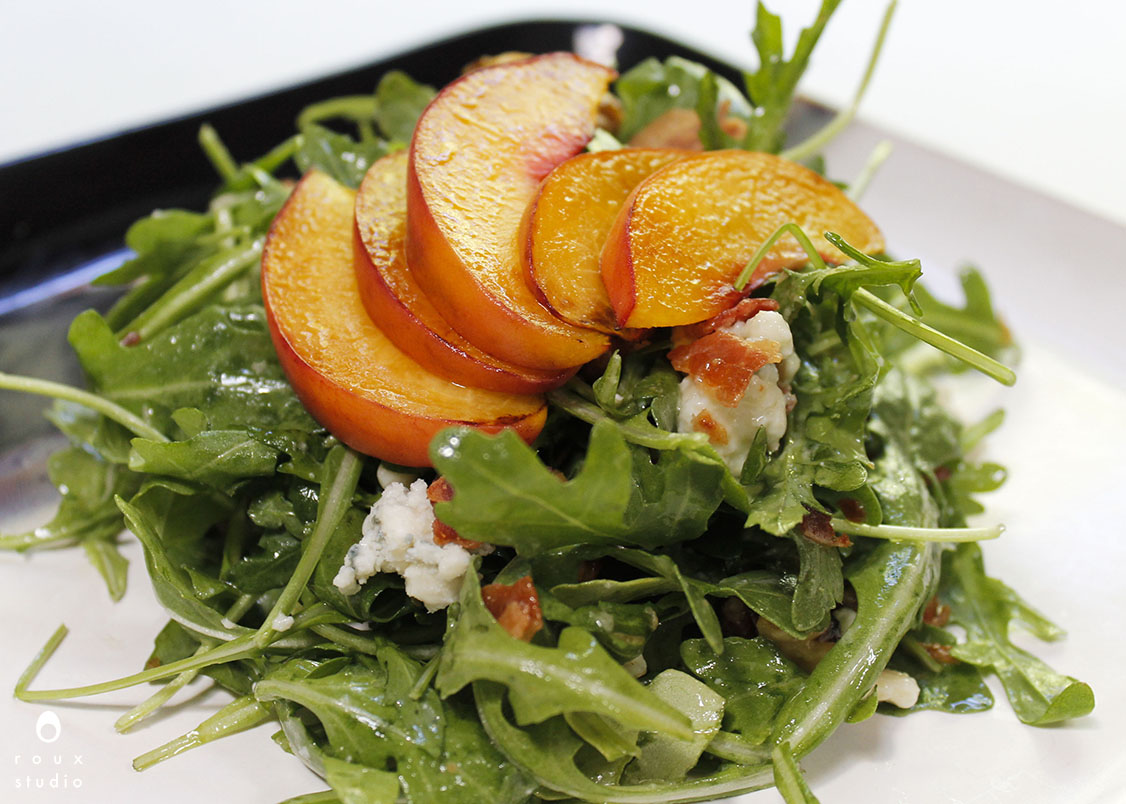 summer arugula salad | roux studio