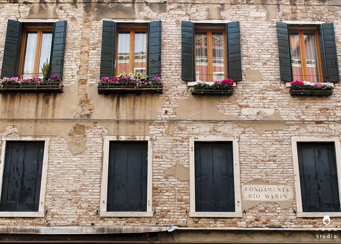 window boxes  venice, italy | april 2014