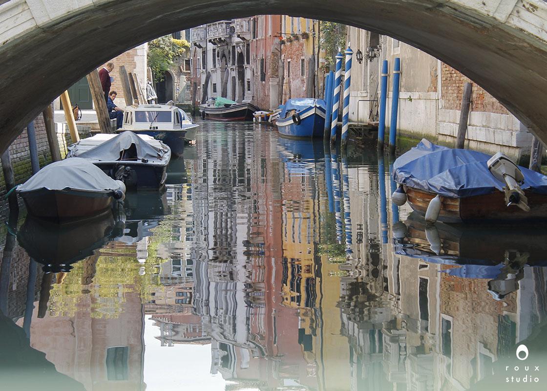 under the bridge  venice, italy | april 2014