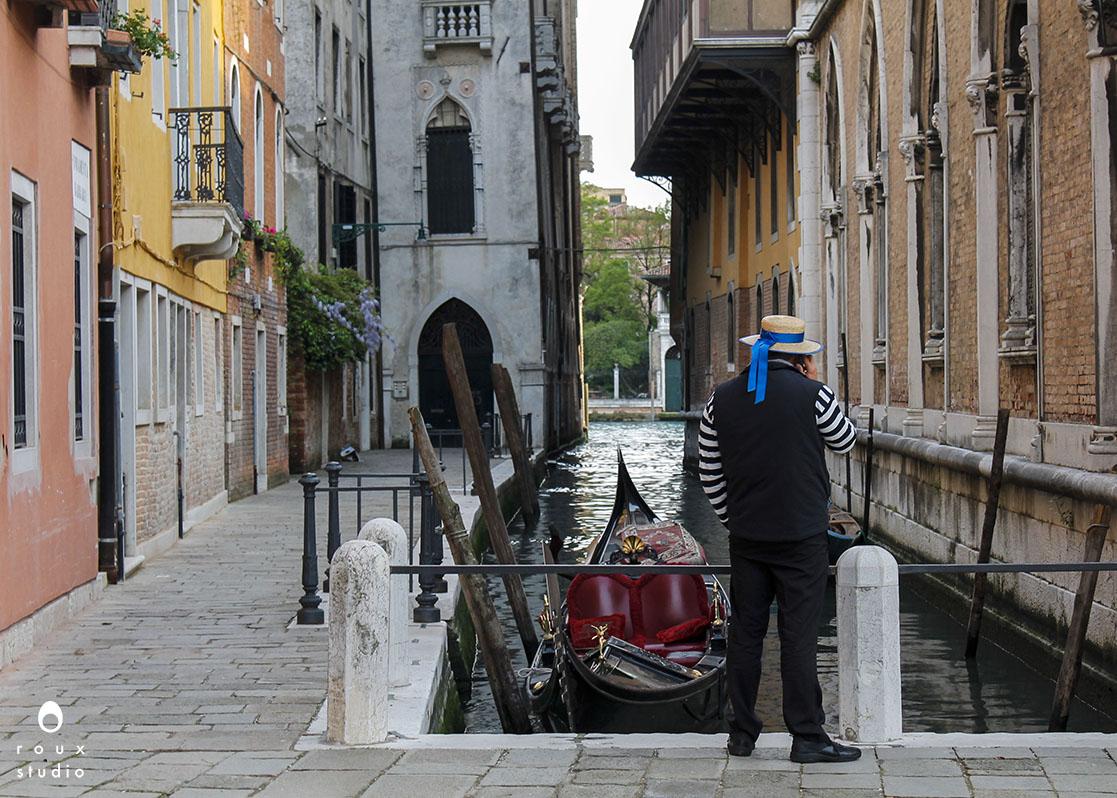 gondolier  venice, italy | april 2014