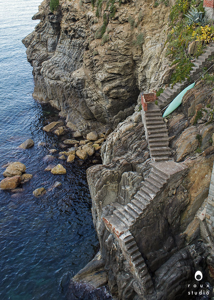 stairs to the ocean  cinque terre, italy | april 2014
