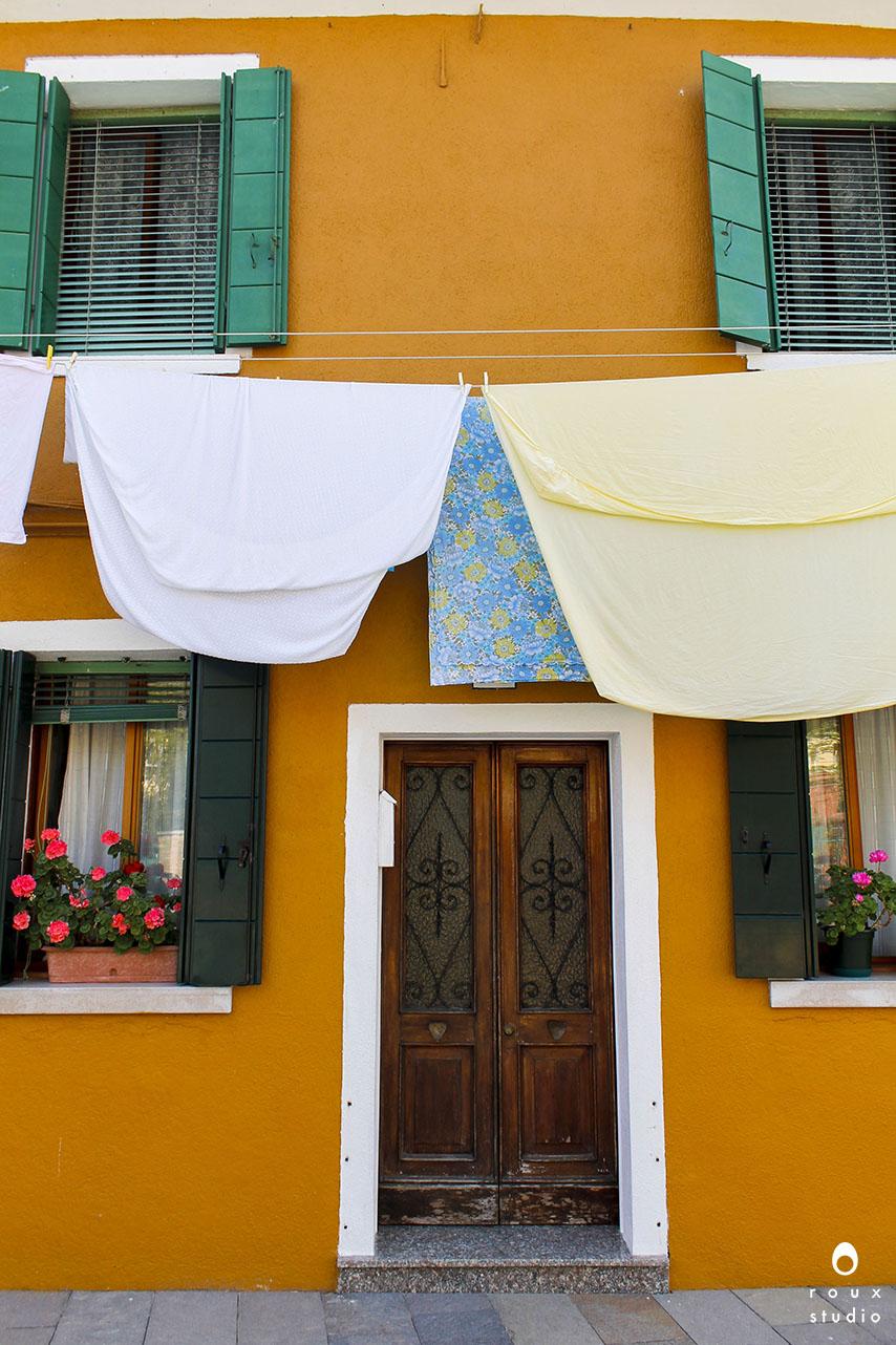 yellow house  burano, italy | april 2014