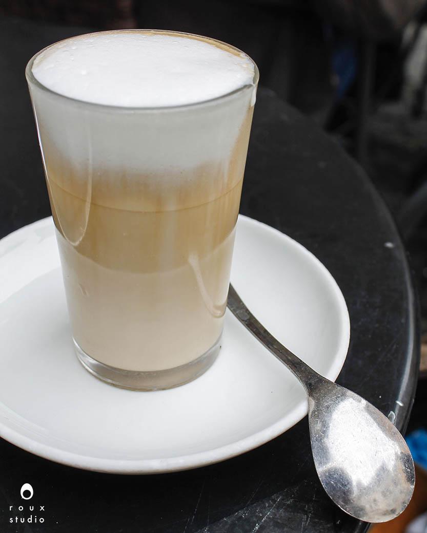 latte from s ant'eustachio    rome, italy | april 2014