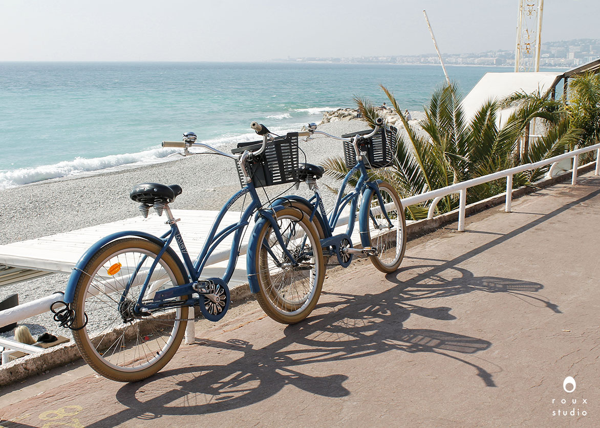 bikes on the promenade  nice, france | march 2014