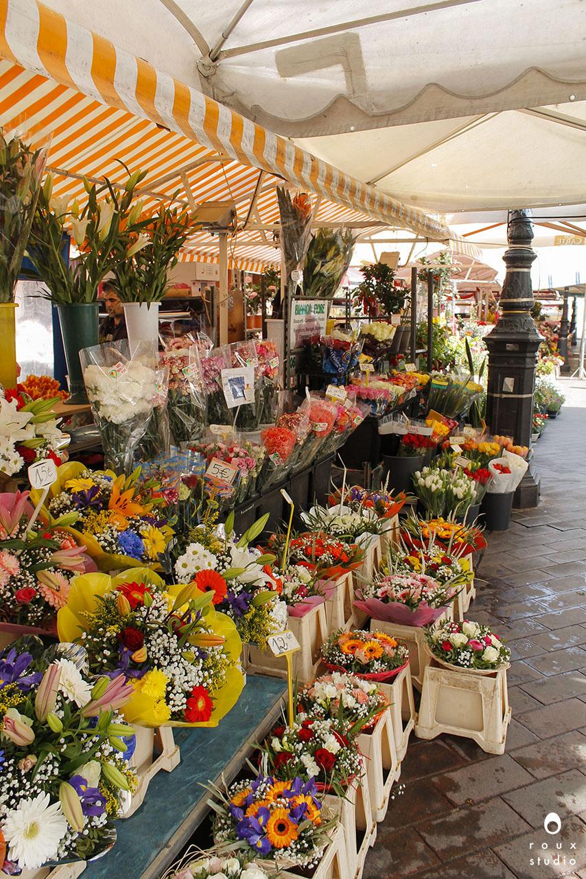 marché aux fleurs  nice, france | march 2014