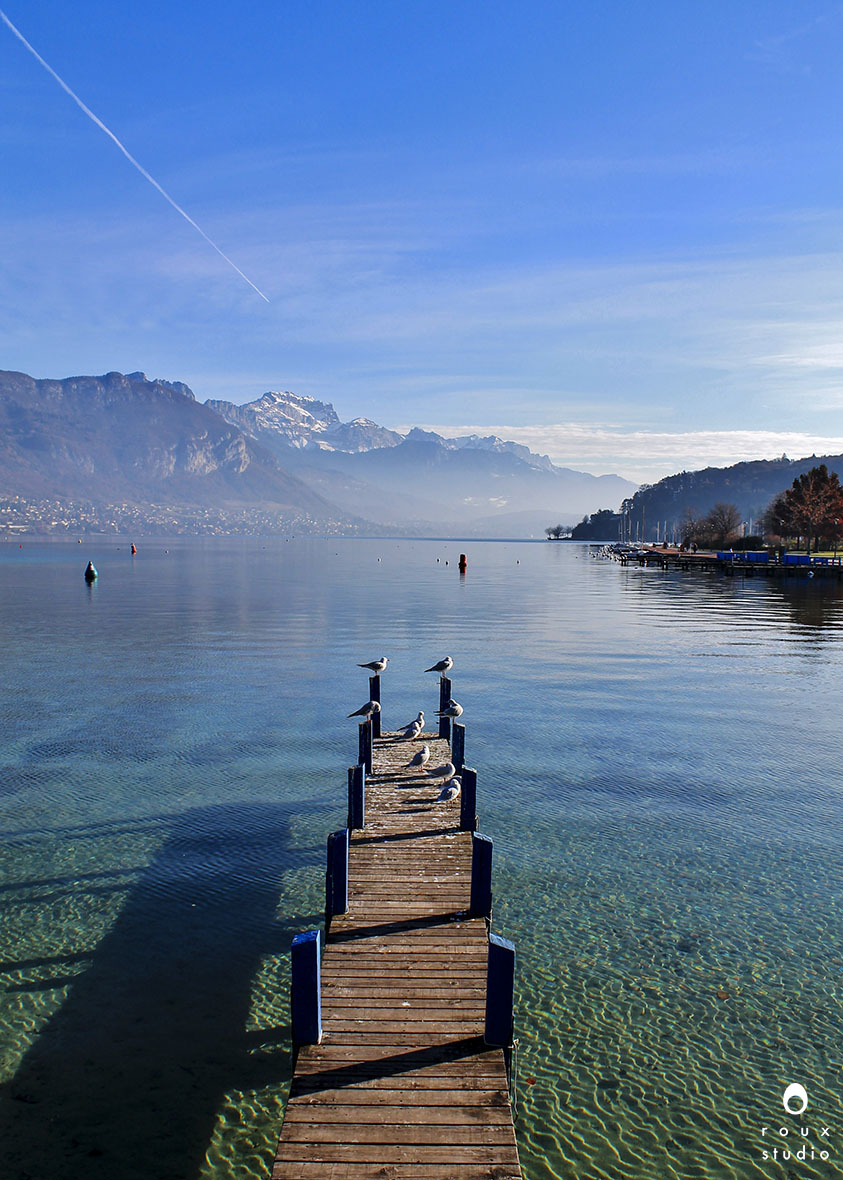 lake annecy  annecy, france | december 2013