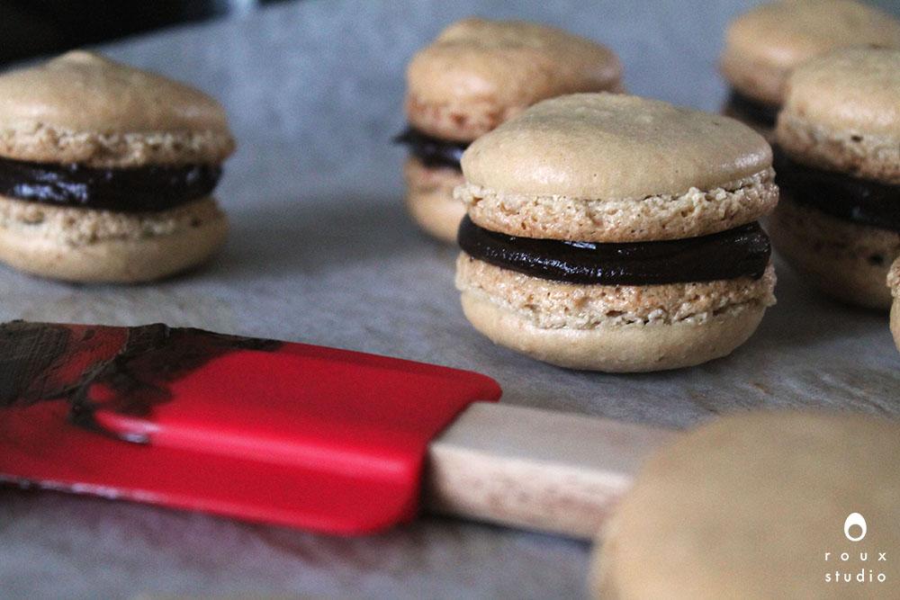homemade macarons au café  gap, france | february 2014
