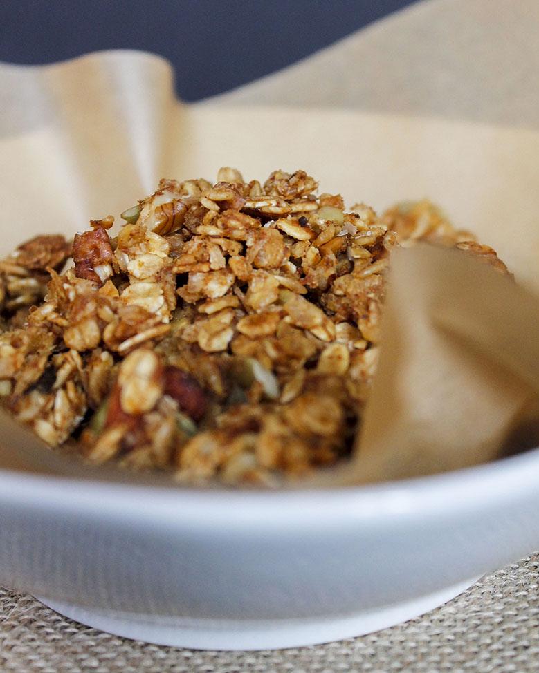 pumpkin pie granola | roux studio