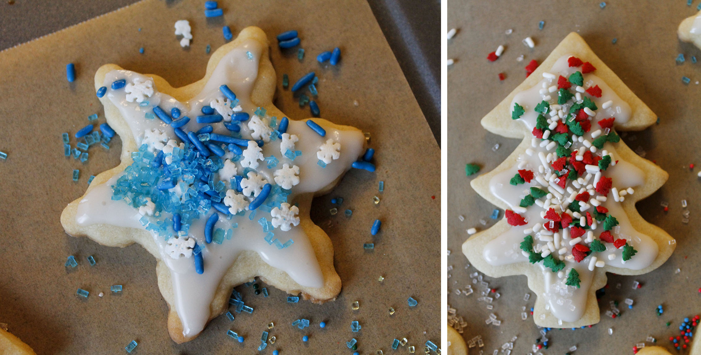 Christmas Tree and Snowflake Cut-Out | roux studio