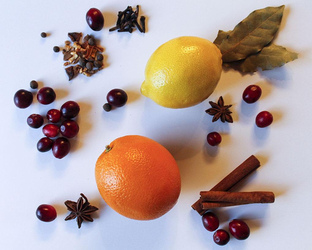 Holiday Simmering Pot Ingredients | roux studio
